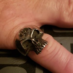 NWT Stainless Steel Skull
